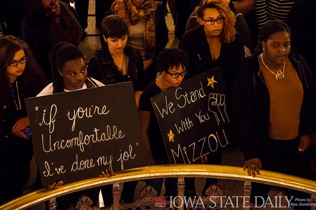 ISU/Mizzou Rally from Flickr via Wylio
