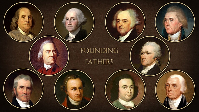The Founding Fathers from Flickr via Wylio
