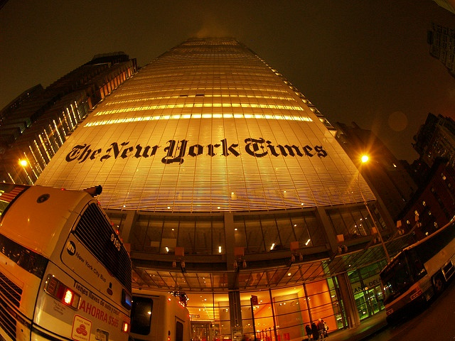 New York Times Building, NYC from Flickr via Wylio