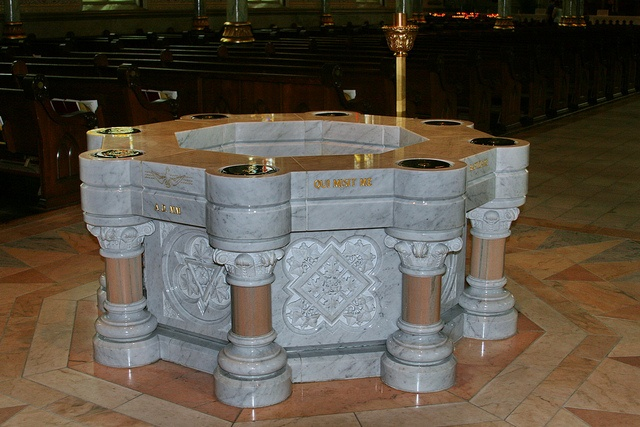 Baptismal Font from Flickr via Wylio