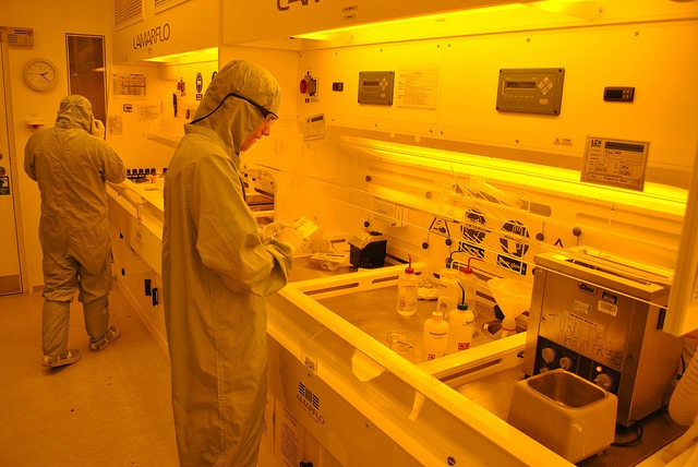 Cleanroom - photolithography lab from Flickr via Wylio